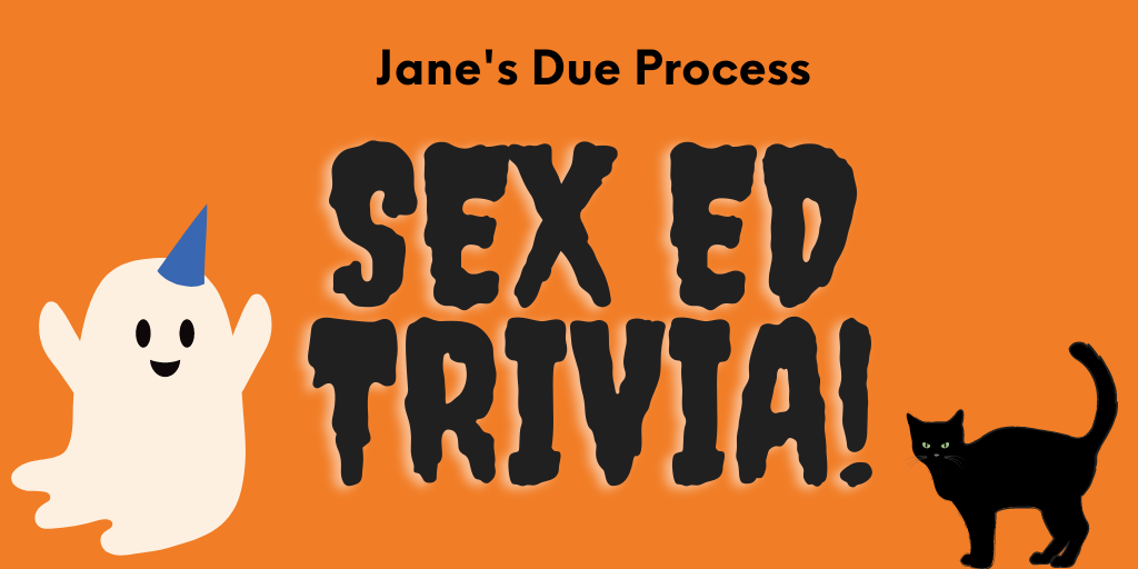 Join us for Halloween Sex Ed Trivia!